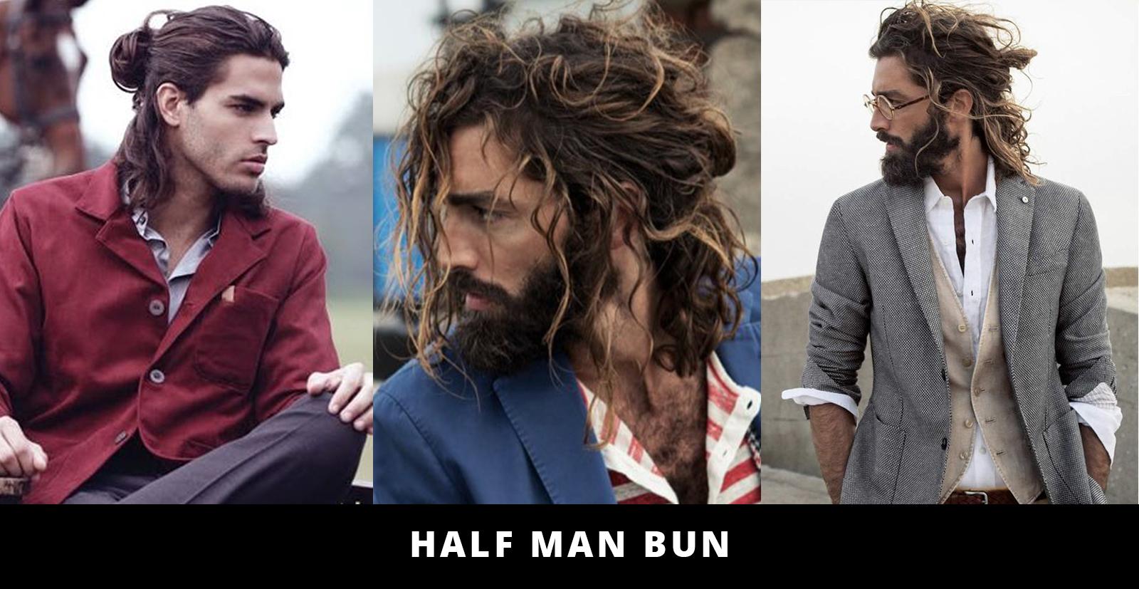 Ekskluzywny Menel 3 Sposoby Na Długie Włosy U Mężczyny